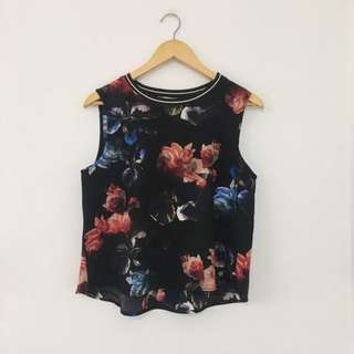 Pull&Bear Floral Blouse