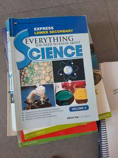 Lower secondary Science guide volume A
