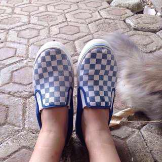 REPRICE! Checkerboard shoes