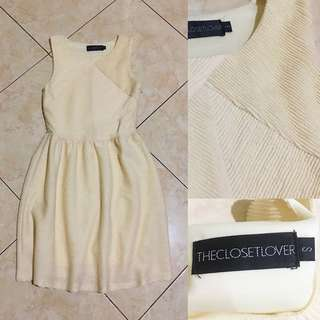 THE CLOSET LOVER Yellow Pastel Dress