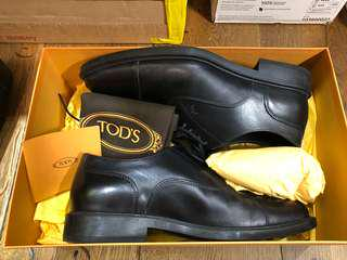 Tod's Men's Derby Oxford Shoes UK 6.5