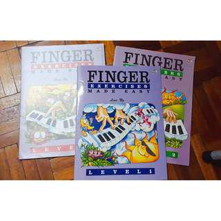 Piano Finger Exercise Make Easy Music Piano book
