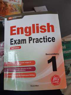 Sec 1 english exam practice