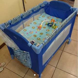Baby Playpen/Crib/rocker