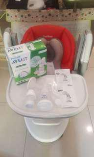 Philips AVENT manual standard breast pump