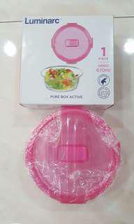 Luminarc glass container