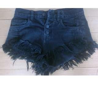 Factorie low rise black shorts
