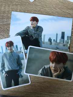 bts j-hope d-icon mag postcard+cards