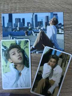 bts rm d-icon mag postcard+cards