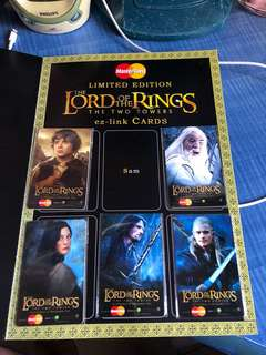 Lord Of The Rings ez link cards