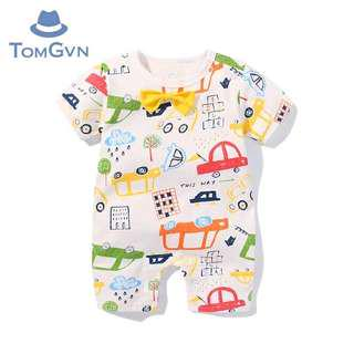 City Baby Boy Cartoon Cars Onesie