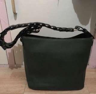 PARISIAN ARMY GREEN BAG