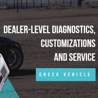 Vehicle Coding Service (OBD2 DIAGNOSTICS / CUSTOMIZATIONS / ADVANCED SERVICE)