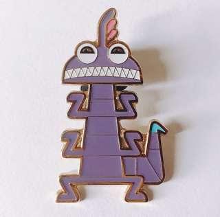 [交換優先] 迪士尼 怪獸公司 怪獸大學 變色龍 pin