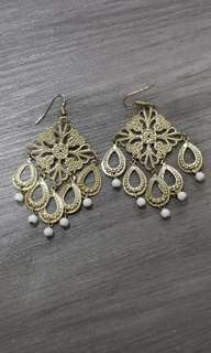 Fancy chandelier earrings
