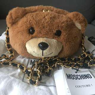 Authentic moschino bear bag