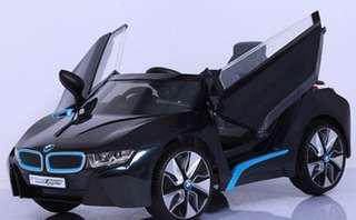 BMW-I8 兒童電動車W480QHG 雙驅雙馬達 緩起步更安全 搖控自駕皆宜 生日禮物 toy car