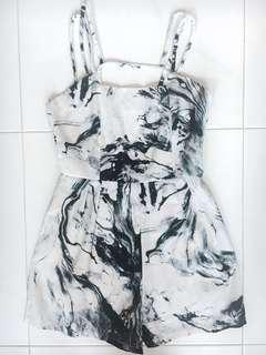 Marble Romper (PRICE REDUCED)