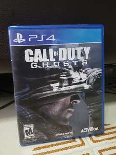 (PS4) Call of Duty Ghosts