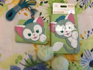 清貨 迪士尼 Disney Disneyland gelatoni 畫家貓 card holder passport holder $200