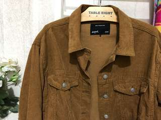 Corduroy jacket brown