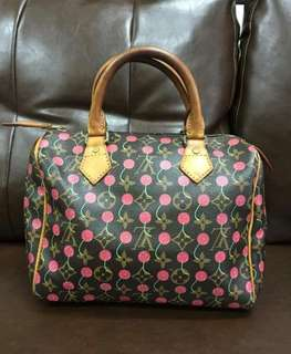 Speedy monogram cherry Limited