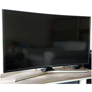 "SAMSUNG 40"" CURVED UHD 4K Smart TV UA40KU6300KXXM"