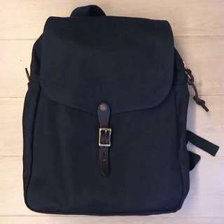 New Filson Navy backpack daypack rucksack water resistant Made in U.S.A.