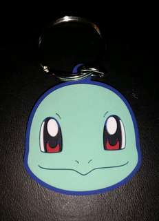 Pokemon Squirtle Rubber Charm