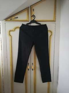 Skinny fit large slacks