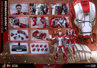 Hot Toys Mark 5 1/6th scale Collectible Figurine