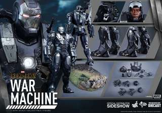 Hot Toys War Machine Mark 1 1/6th scale Diecast Collectible Figure