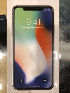 《全新公司貨》Apple iPhone X (256G)(銀白)