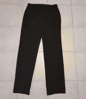 G2000 trouser pants black pinstripe size 8 / 38