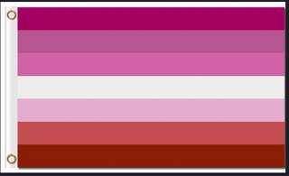 Lesbian (Lipstick) flag