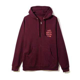 ASSC Lost Feelies Zip hoodie