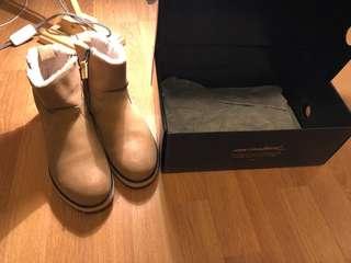 EMU Beach mini chestnut boots
