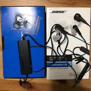 Bose QC20i Earphones