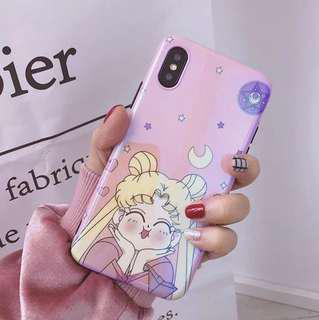 (Soft) Reflective Happy Sailormoon iPhone Case