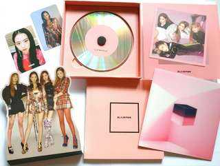 ALBUM BLACKPINK SQUARE UP PINK VERSION (unsealed)