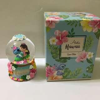 Japan Tokyo Disney Stitch Day 史迪仔 水晶玻璃球