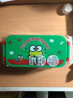 Keroppi 雙層食物盒 日版