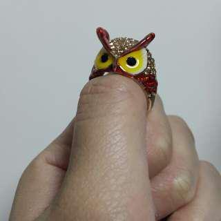 貓頭鷹指環