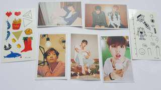 📮free post. BTS photo cards
