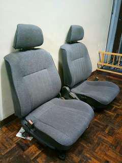 Seat wira 1.5 depan belakang