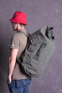大容量棉帆布健身旅行包 背囊 流浪包