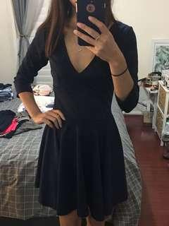 Showpo navy blue dress size 8