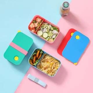 日式分格 便當盒 沙律 盒飯盒