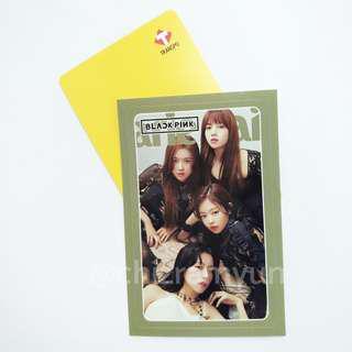 Kpop Black Pink Custom Train Bus Card Reloadable