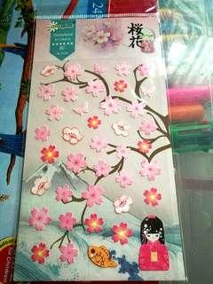 Japanese Sakura Sticker Pad